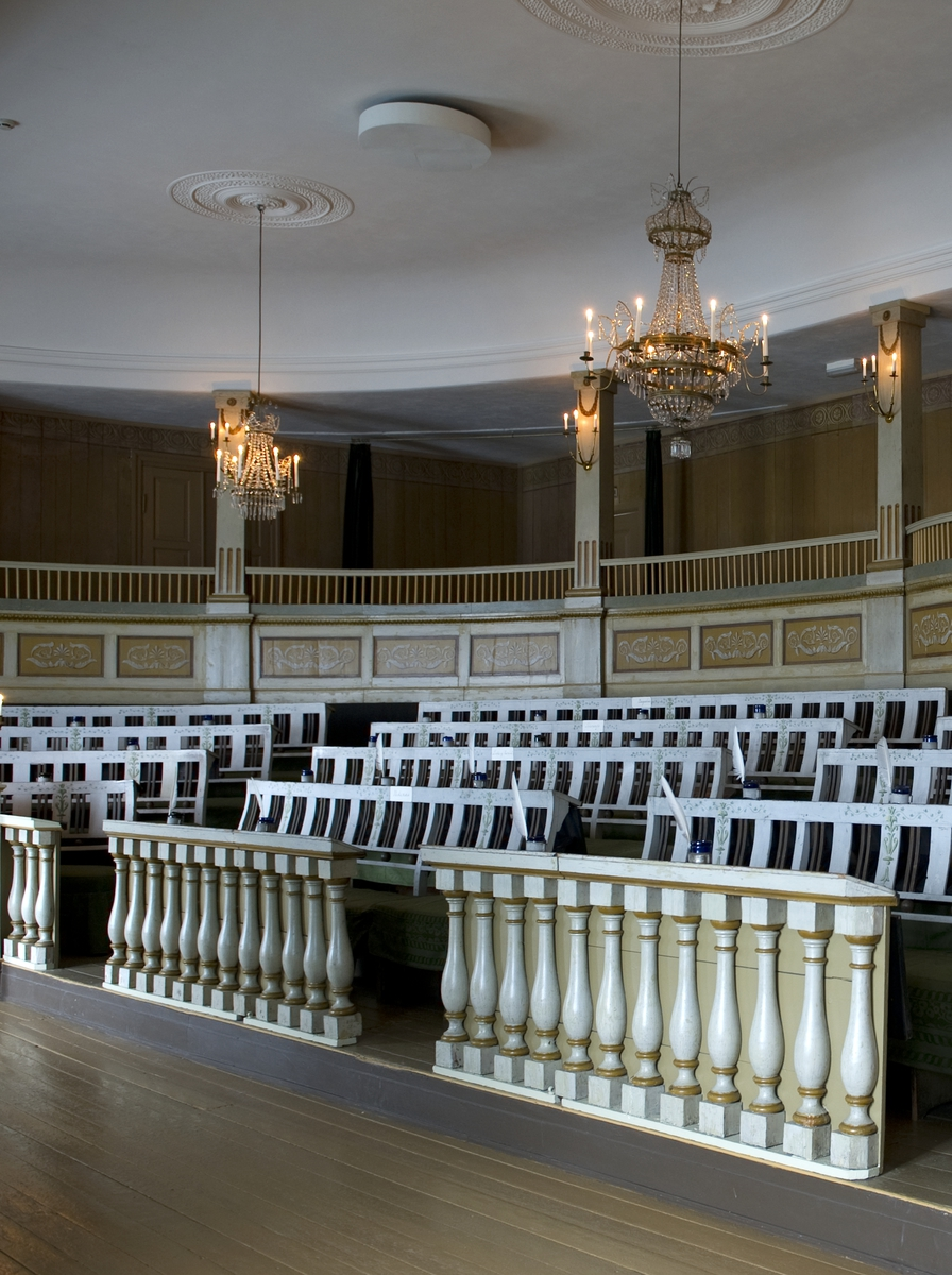 Søndag 4. november 2012 åpner Norsk Folkemuseum en utstilling som presenterer vår første Stortingssal og aktiviteten knyttet til utviklingen av det norske demokratiet fra 1814 til 1854.  Utstillingen omhandler landets første Stortingssal og fokuserer på viktige hendelser som fant sted i Stortingssalen i perioden den var i bruk.