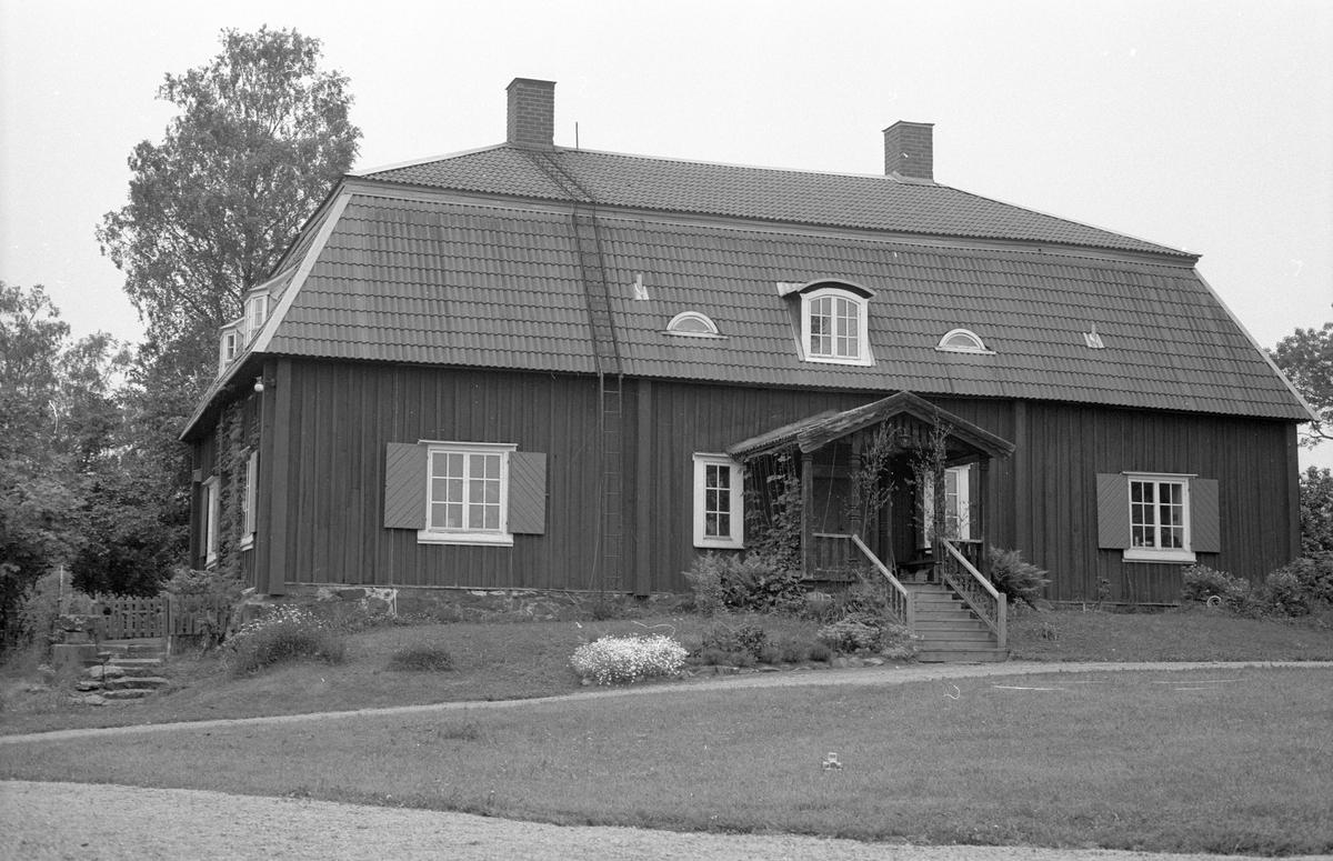 Bostadshus, Ora gård, Ora 1:1, Ora, Faringe socken, Uppland 1987