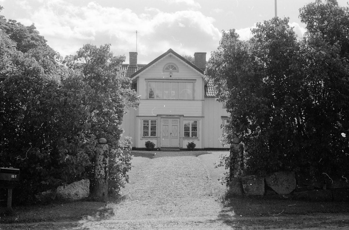 Bostadshus, Gränsta 1:56, Gränsta, Knutby socken, Uppland 1987