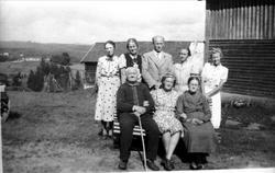 Anna og Torje Ågedal m/ familie