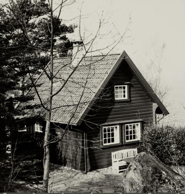 Det eldste av de fem feriehjemmene til bedriften Jonas Øglænd, Sandnes på Bersagel.
