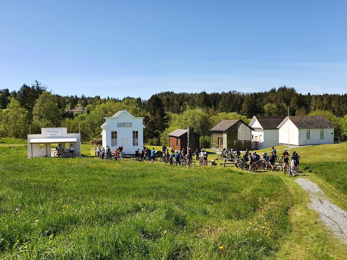 Skoleklasse besøker Utvandringssenteret (Foto/Photo)