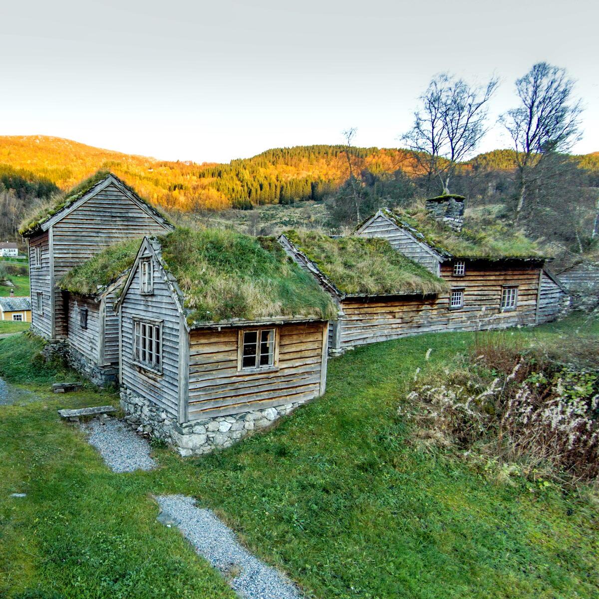 bygningar i museumstun (Foto/Photo)
