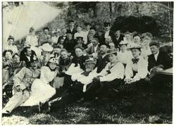 Gruppebilder, navngitte Utflukt  Botnekilen