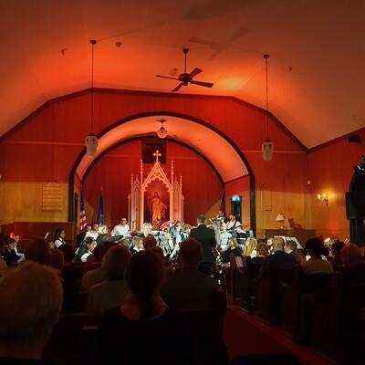 Konsert i kirken. Foto/Photo