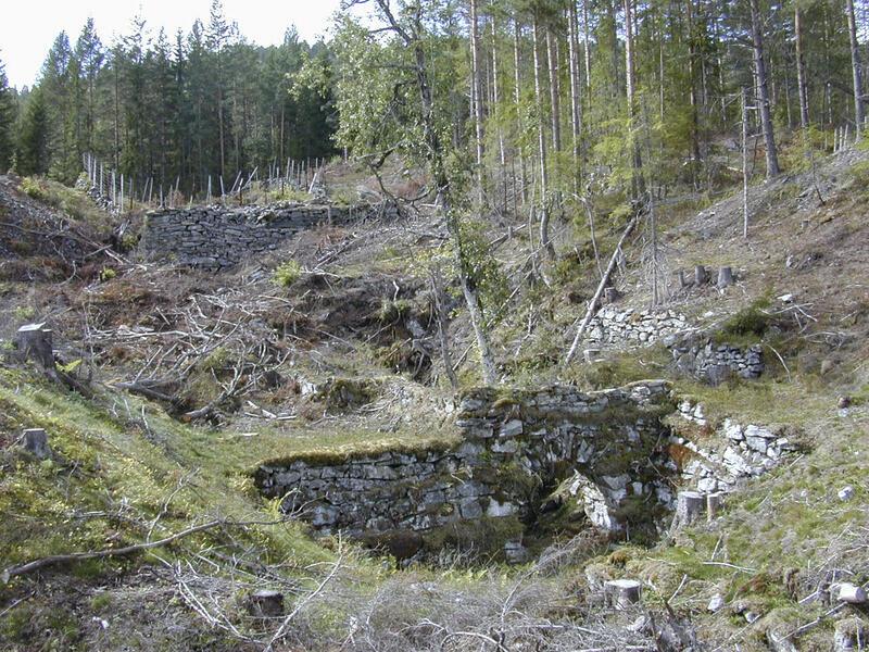 Hjulstue ved IV. Lichtloch (8). (Foto 2005, i dag tilgrodd.) (Foto/Photo)