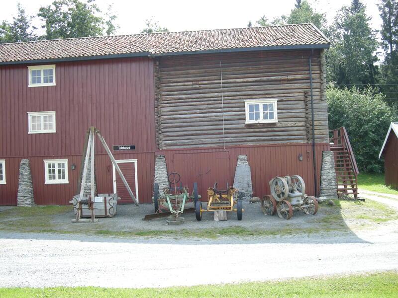 Telthuset. Foto:Ukjent/Norsk vegmuseum (Foto/Photo)