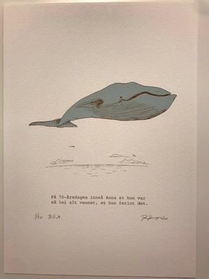 Anna.21x29,7cm DGA-trykk (Digital Graphic Art) på Hahnemühle William Turner 310 gsm. Opplag: 50 Signert og nummerert - kr 1200 (Foto/Photo)