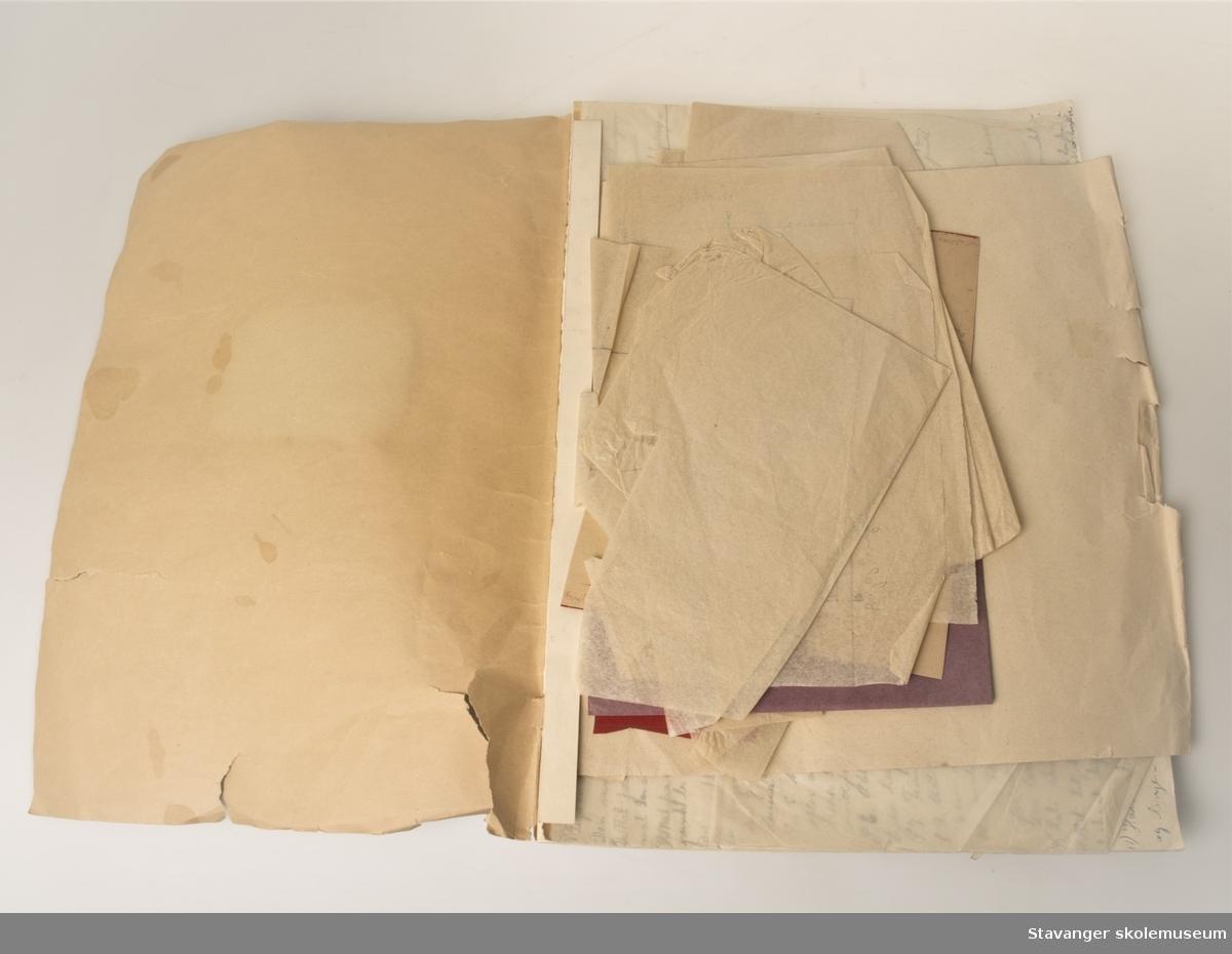 Rissebok med flere mønstrer