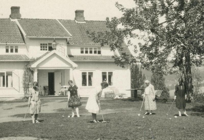 Marka pensjonat, Brandbu Foto: Steinar Karlsen/Randsfjordmuseet. (Foto/Photo)