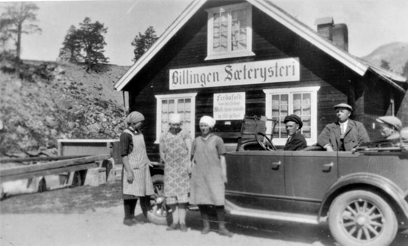 Billingen Sæterysteri, Skjåk. Foto: Skjåk historielag / Gudbrandsdalsmusea. (Foto/Photo)