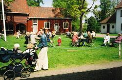 Gjøvik Gård: Tunet med bygninger