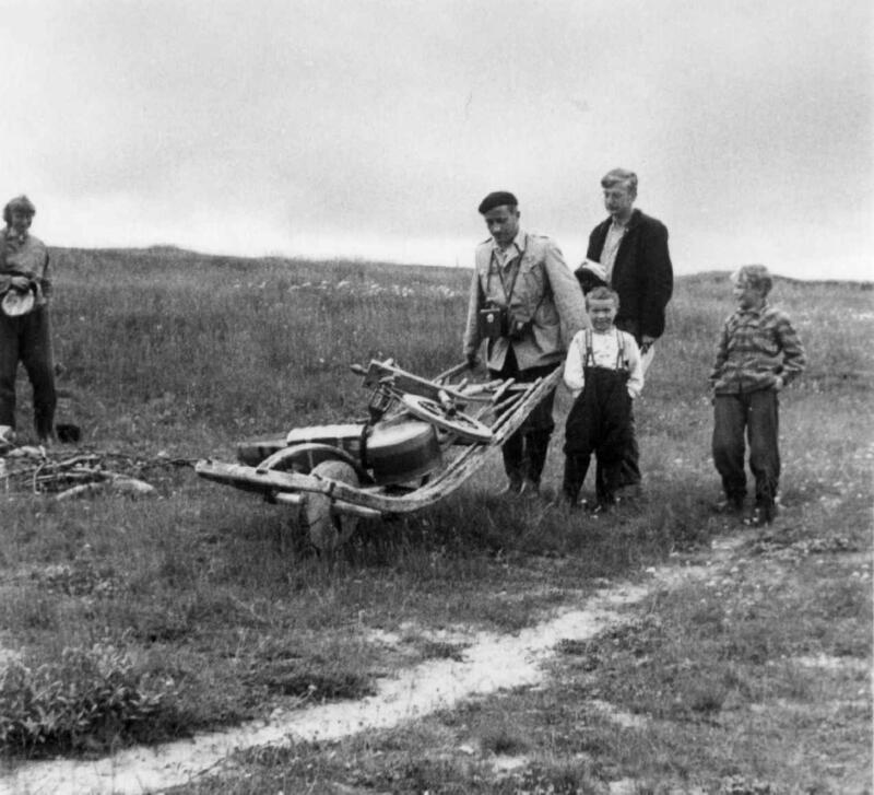 Feltarbeid 1952 (Foto/Photo)