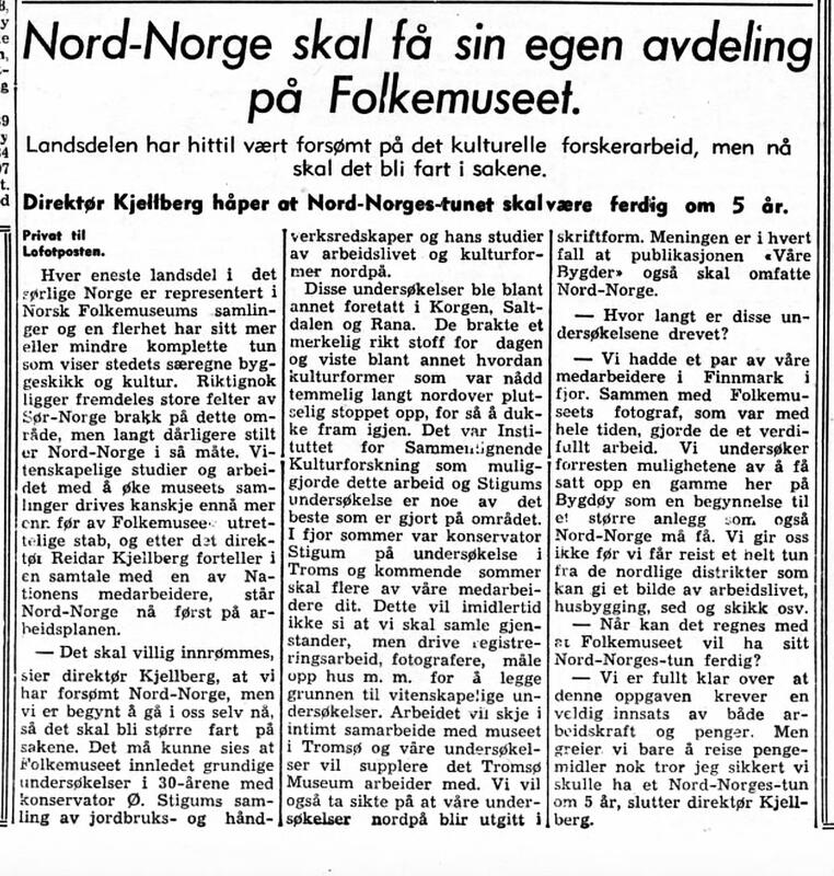 Lofotposten  4. februar 1948 (Foto/Photo)