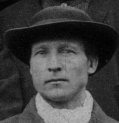 Hytteknekt Ole Mathiesen (1849-1916) (Foto/Photo)