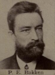 Smed Petter E. Bækken (1847-1892) (Foto/Photo)