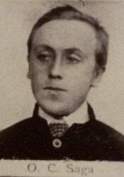 Borhauer Olaus K. Saga (1860-1917) (Foto/Photo)