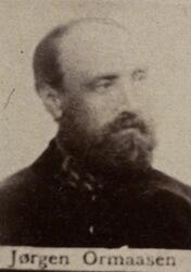 Pukkverksarbeider Jørgen J. Ormaasen (1839-1925) (Foto/Photo)