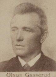 Kontorassistent Olaus Gaaserud (1840-1918) (Foto/Photo)