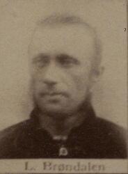 Sjakthauer Lauritz N. Wærp (1849-1937)? (Foto/Photo)