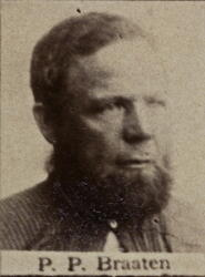 Sjakthauer Petter P. Braaten (1835-1903) (Foto/Photo)