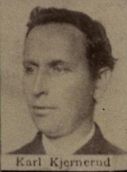 Stiger Karl A. Kjennerud (1849-1916) (Foto/Photo)