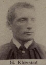 Borhauer Hans L. Kløvstad (1853-1914) (Foto/Photo)