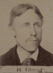 Borhauer Hans O. Olsrud (1863-1914) (Foto/Photo)