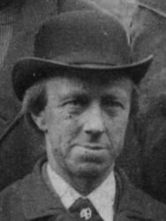 Hyttemester Richard F. Stalsberg (1834-1907) (Foto/Photo)