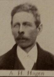 Løsarbeider Anders H. Hagen (1856-1889) (Foto/Photo)