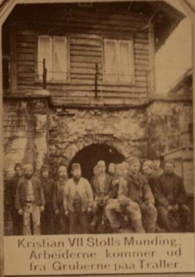 Historisk bilde Christians den VII mundloch (Foto/Photo)