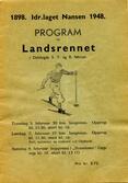 Program for Landsrennet i 1948