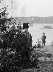 Uno och Sigurd Hallin