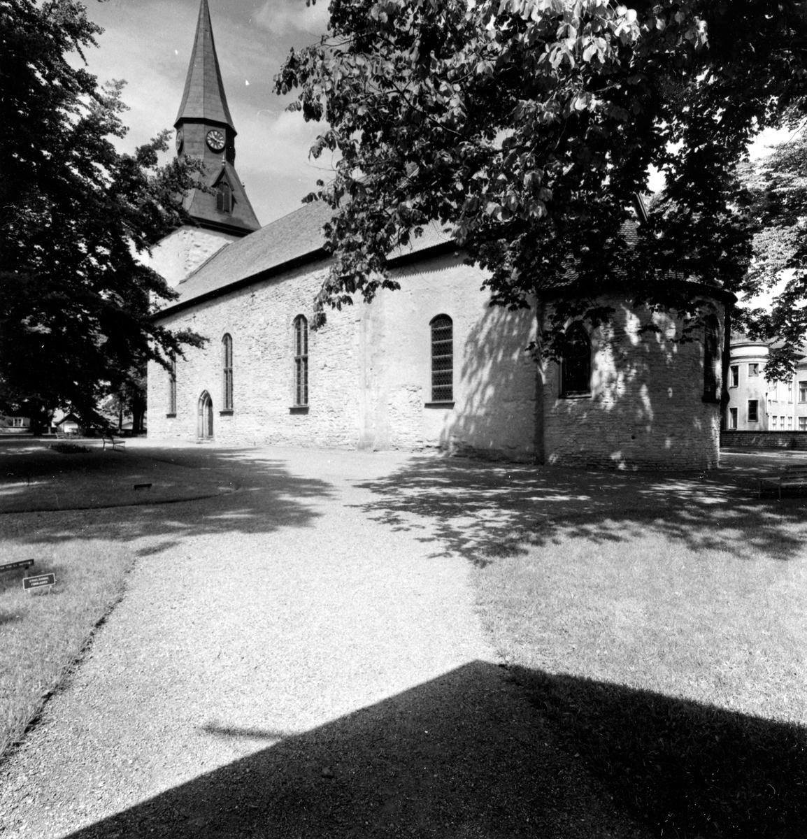 S:t Olofs kyrka. Från NM:s byggnadsinventering 1957.