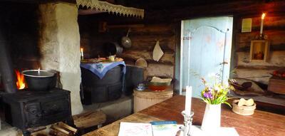 Kittilbu Utmarksmuseum, Seterlunsj på Volden seter. Foto/Photo