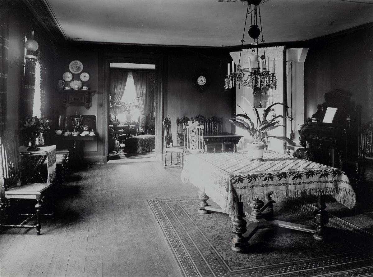 Klotens herrgård, interiör.