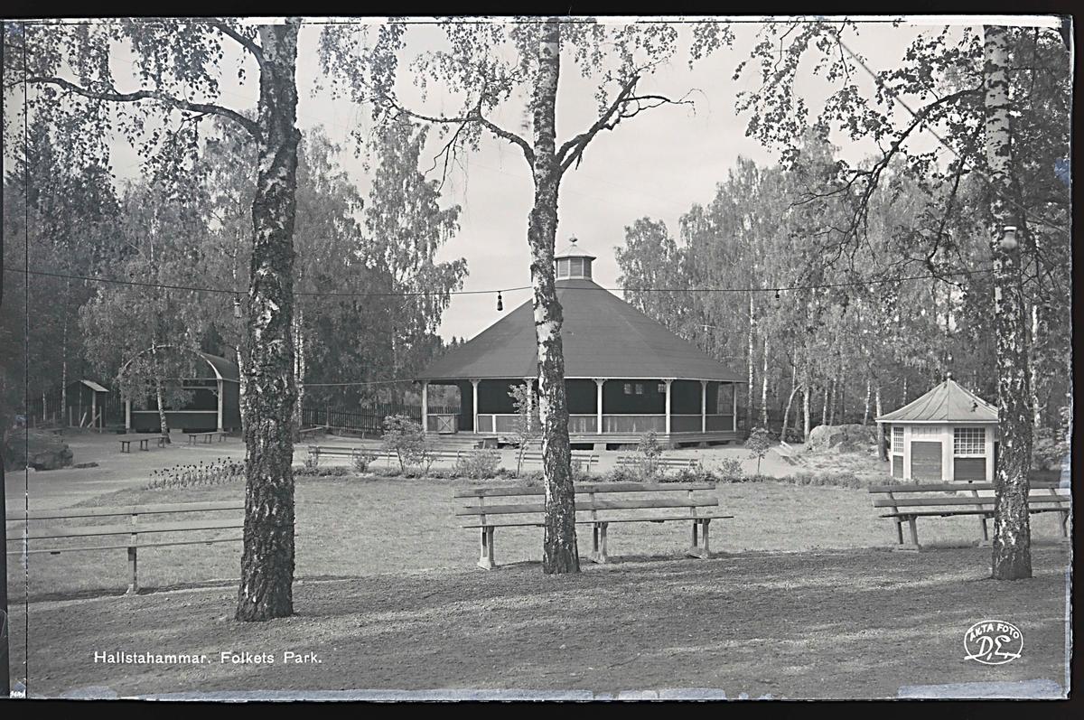 Folkets Park i Hallstahammar.