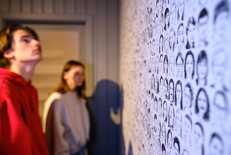Fra utstillingen Hysj! Fortellinger om abort og seksualitet. Foto: Ali Suliman/Anno (Foto/Photo)