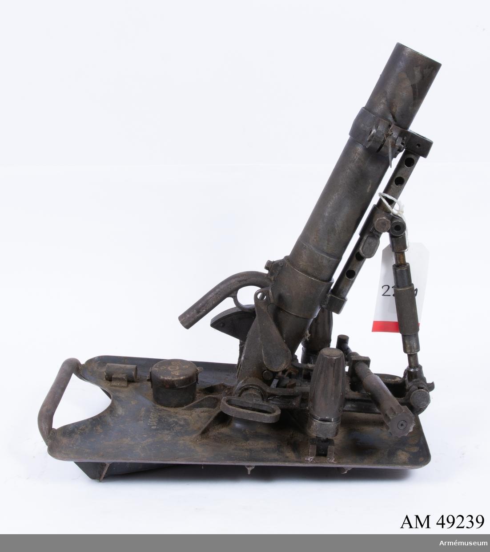 Grupp E X b. Granatkastare, Tyskland. 1930-50 ca. Bp 26101. Tillv. baa 1942.