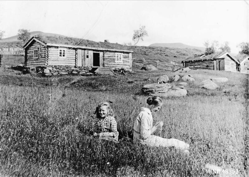 Seteridyll. Foto: Anno Musea i Nord-Østerdalen. (Foto/Photo)