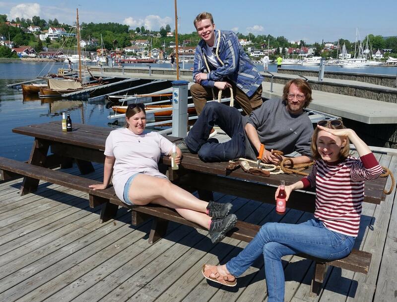 Foto: Knut Førsund. De ansatte på Oslofjordmuseet gleder seg til at båtene kommer på plass i museumshavna. (Foto/Photo)