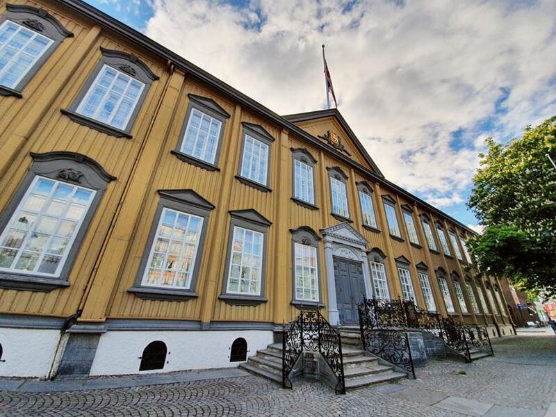 Stiftsgårdens fasade Foto: NKIM (Foto/Photo)
