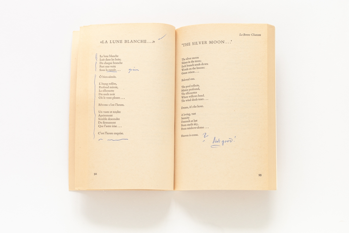 Paul Verlaine: Selected Poems