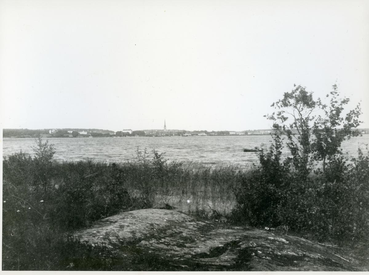 Västerås. Vy över Västerås, c:a 1900.