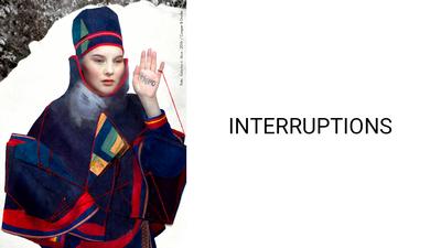 Interruptions. Foto/Photo