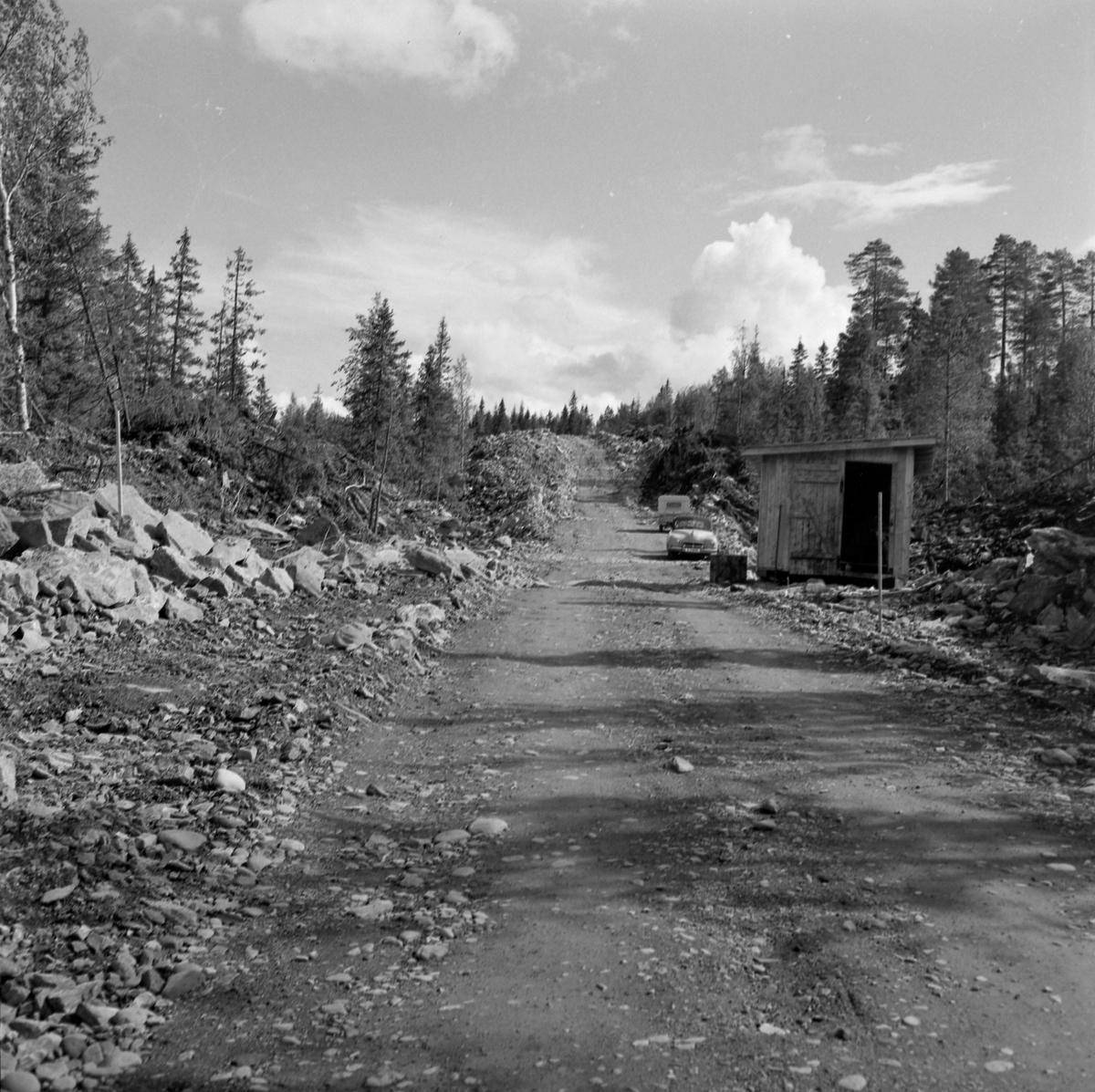 Mellomriksveien under bygging