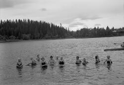 Svømmekurs på Lianvannet