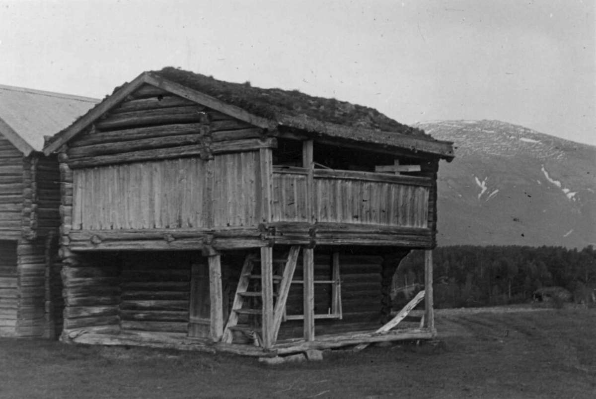 Nymoen Fåset, Tynset, Hedmark 1949. Loft.