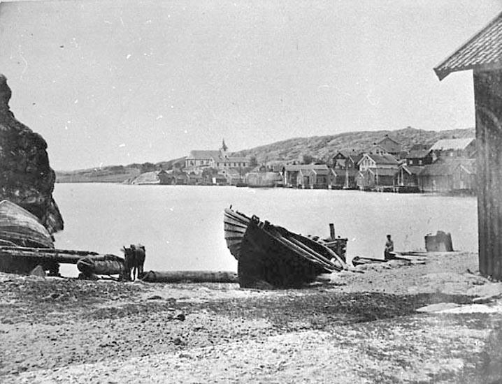 """Bildtext till kopian i fotoalbumet: """"Kilen år 1880""""."""