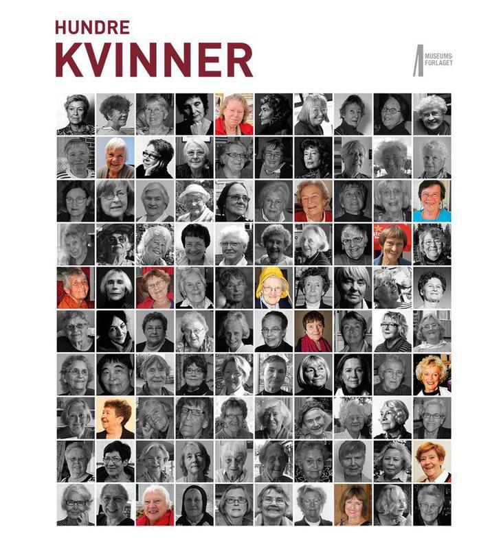 Hundre kvinner, forside bok